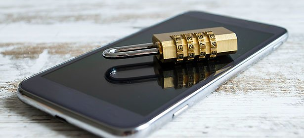 mobile phone security main image padlock on mobile 464790