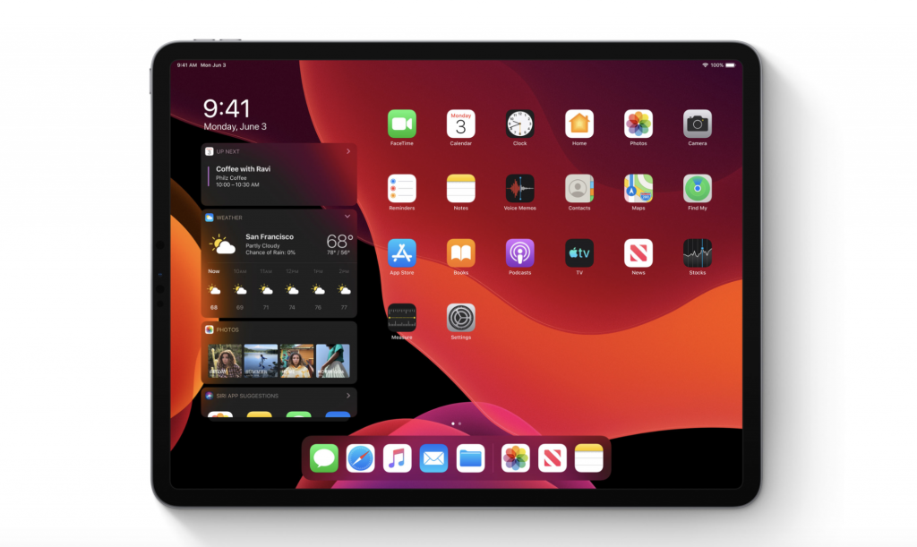 iPadOS mouse support 2060x1230