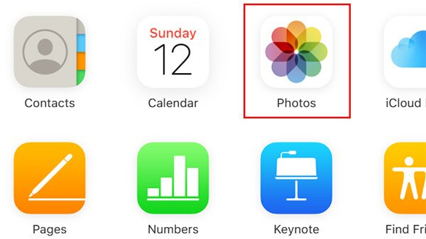 Click Photos from iCloud1