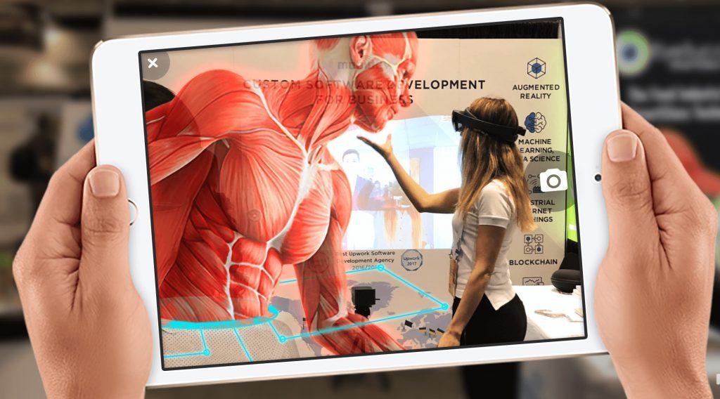 Augmented reality na iPadu