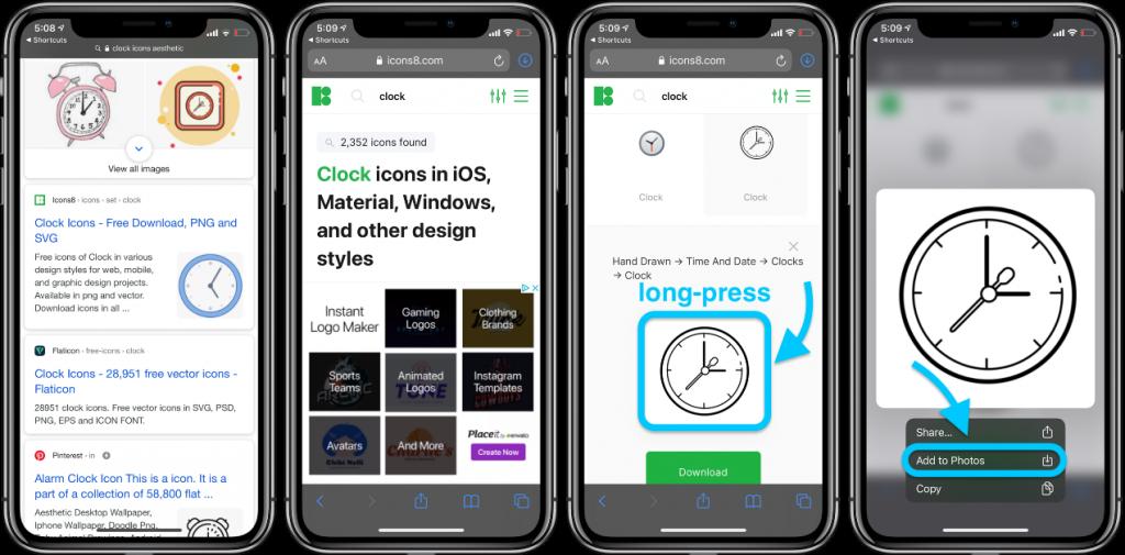 screen icon iphone idoktor 2
