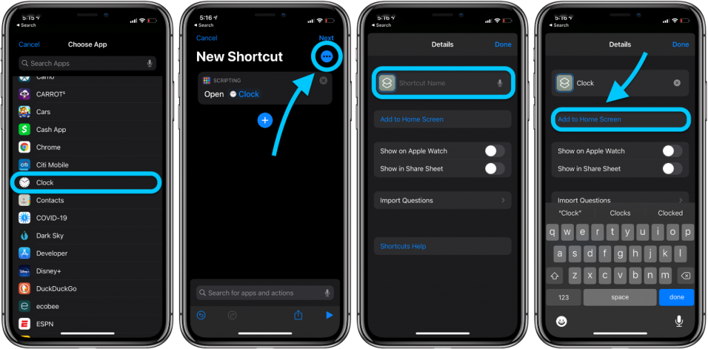 screen icon iphone idoktor 4