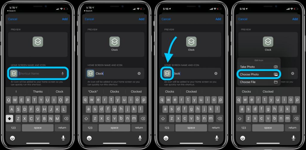 screen icon iphone idoktor 5