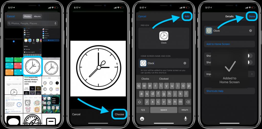 screen icon iphone idoktor 6